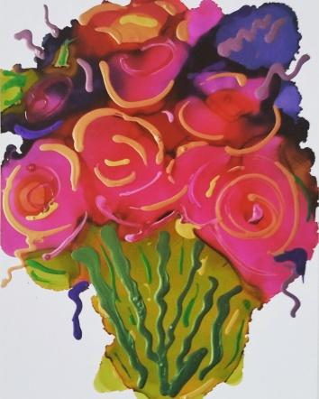"""""""Bouquet"""" 11x14"""